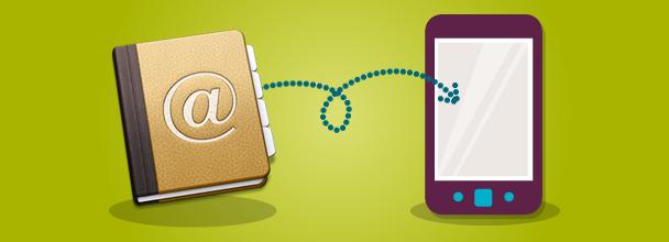 Sincronizar contactos de Gmail a tu SmartPhone