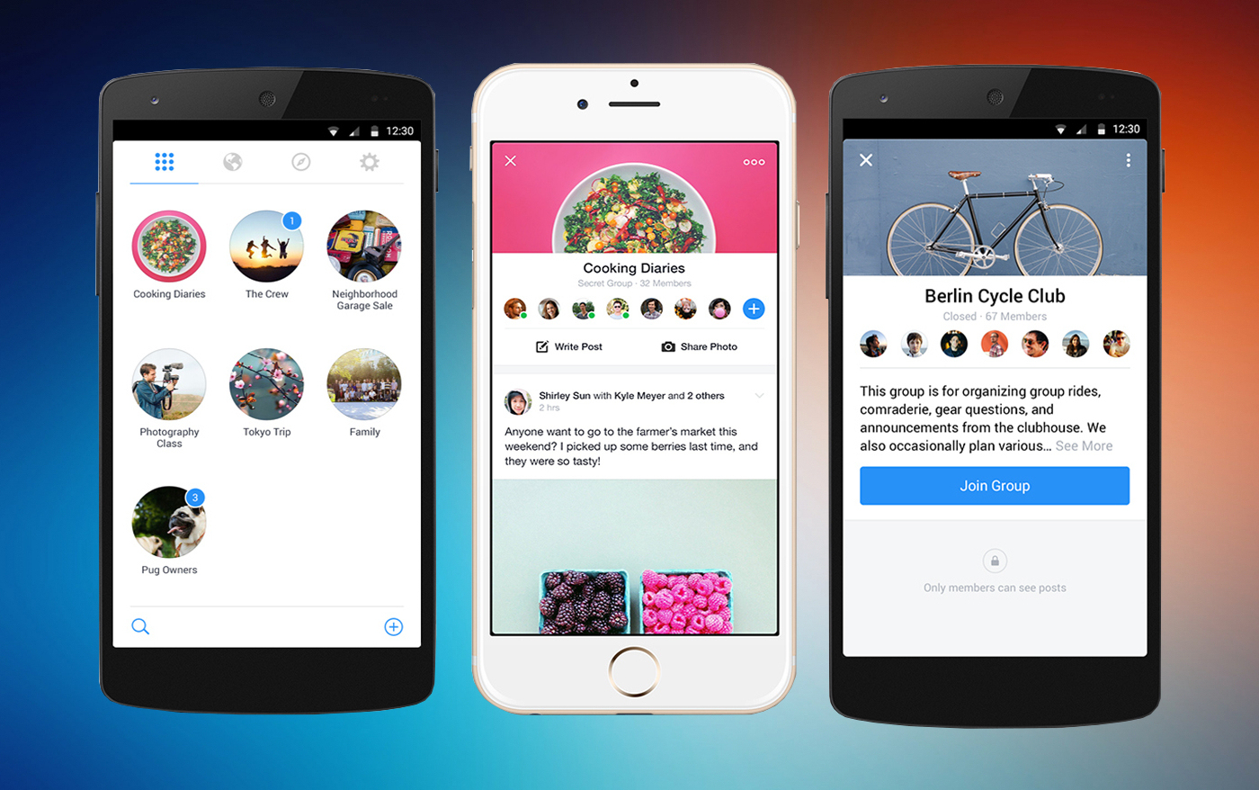 Una nueva aplicación de Facebook para gestionar los grupos